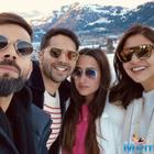 Anushka Sharma-Virat Kohli meet 'frands' Varun Dhawan-Natasha Dalal on the Swiss Alps during their vacay