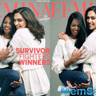 Truly unstoppable: Deepika Padukone and acid attack survivor Laxmi Agarwal on the January issue of Femina India magazine