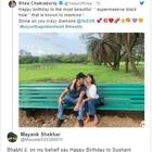 Fans react on Rhea Chakraborty's sweet birthday wish for boyfriend Sushant Singh Rajput, call her