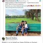 Fans react on Rhea Chakraborty's sweet birthday wish for boyfriend Sushant Singh Rajput, call her