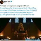 Takht: Filmmaker Karan Johar Announces The Release Date Of His Magnum Opus