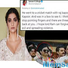 Sonam Kapoor reveals  about dad Anil Kapoor's picture with Dawood Ibrahim, says he went for an Indian cricket match