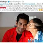 Neha Dhupia shares a loved-up picture with hubby Angad Bedi as she wishes him on birthday
