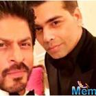 SRK and Karan Johar will reunite for a film soon?