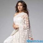 Sara Ali Khan's drop-dead gorgeous look in a white sheer saree will mesmerise you