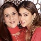 Even as a baby, Sara Ali Khan was a mirror image of mother Amrita Singh