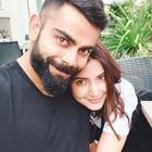 Virat Kohli has Anushka Sharma painted on his heart in new pic