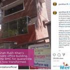 SRK-Gauri's Office Space Transformed Into Quarantine Zone