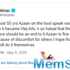 Javed Akhtar calls to end Azaan on loudspeakers, says it causes discomfort to others