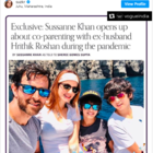 Sussanne Khan on quarantining with Hrithik Roshan: It was more intelligent and soulful decision for our sons