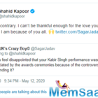 Was Shahid Kapoor disappointed that he didn't receive awards for Kabir Singh? Check here what he says