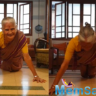 Milind Soman's Mother celebrates 81st birthday with 15 push-ups, fans bowled over!