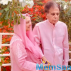 Evergreen couple Dilip Kumar and Saira Banu twinning in pink in their latest picture is all things love