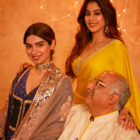 Khushi Kapoor looks breathtakingly beautiful in shades of blue