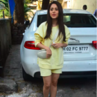 Nushrratt Bharuccha looks simple and stylish as she steps out in the city