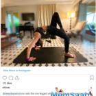 Monday Motivation: Deepika Padukone's one-legged wheel pose is a study in balance
