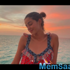 Ananya Panday shares a stunning picture from her Maldives vacation; captions,