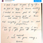 Sushant Singh Rajput's sister Shweta Singh Kirti shares a note written by the late actor