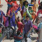 Abhishek Bachchan,Prachi Desai On The Sets Of Bol Bachchan