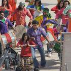 Ajay,Abhishek,Rohit and Prachi On the Sets of Bol Bachchan