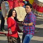 Abhishek,Prachi On The Sets of Bol Bachchan
