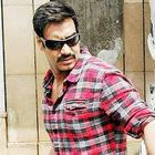 Ajay Devgan Hot Pose On The Sets of Bol Bachchan