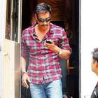Ajay Devgan On The Set Of Bol Bachchan