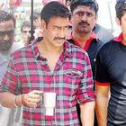 Ajay Devgan at New Hindi Movie Bol Bachchan Sets