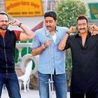 Ajay Devgn, Abhishek Bachchan and Rohit Shetty On The Sets of Bol Bachchan
