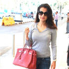 Amisha Patel snapped at the airport images