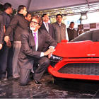 Amitabh Bachchan unveils India's first super car