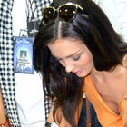 Amy Jackson Registers in Donation Camp