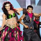 Bipasha Basu Perform On The Stage at Super Fight League