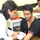 Blood gets drawn from Prateik Babbar