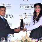 Sonam Kapoor at Loreal Femina Women Awards 2012 Launch Event