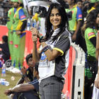 Riteish D. and Genelia D. snapped at CCL 2 match 2012