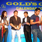 Gold Gym Calendar Launch 2012