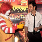 Hrithik Roshan at Agneepath-Mcdonalds event