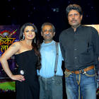 Kapil Dev Snapped at Cricket Show For Aajtak TV