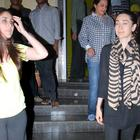 Saif Ali Khan Spotted Along With His Son Ibrahim Kareena and Karishma