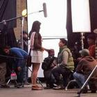 Katrina Kaif and Shahrukh Khan On The Sets of London Ishq