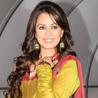 Mahima Chaudhary looking gorgeous on the sets of Chote Miyan