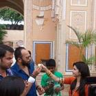 Prachi Desai,Rohit Shetty On The Sets of Bol Bachchan