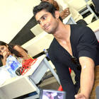 Prateik Babbar Acting Brave at Blood Donation Camp