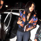 Priyanka Chopra spotted at Mumbai International Airport
