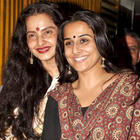 Rekha Watches Kahaani With Vidya Balan