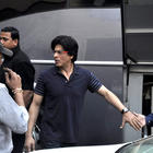 SRK Spotted at the Mehboob Studio