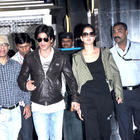 Shahrukh Khan and Katrina Kaif Return From London