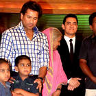 Aamir Khan Ambani Family and Sachin Tendulkar at CNN IBN Heroes Awards