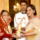 Bollywood Actor Dharmendra and Shabana Azmi Receive Padma Bhushan Award